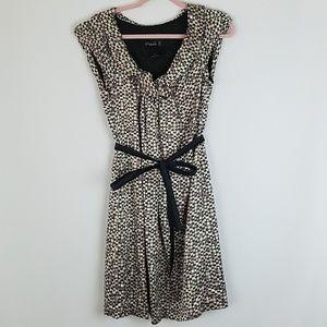 Hanii Y. women 42 dress tied knee length silk